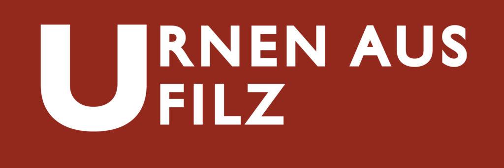 Urnen aus Filz Logo
