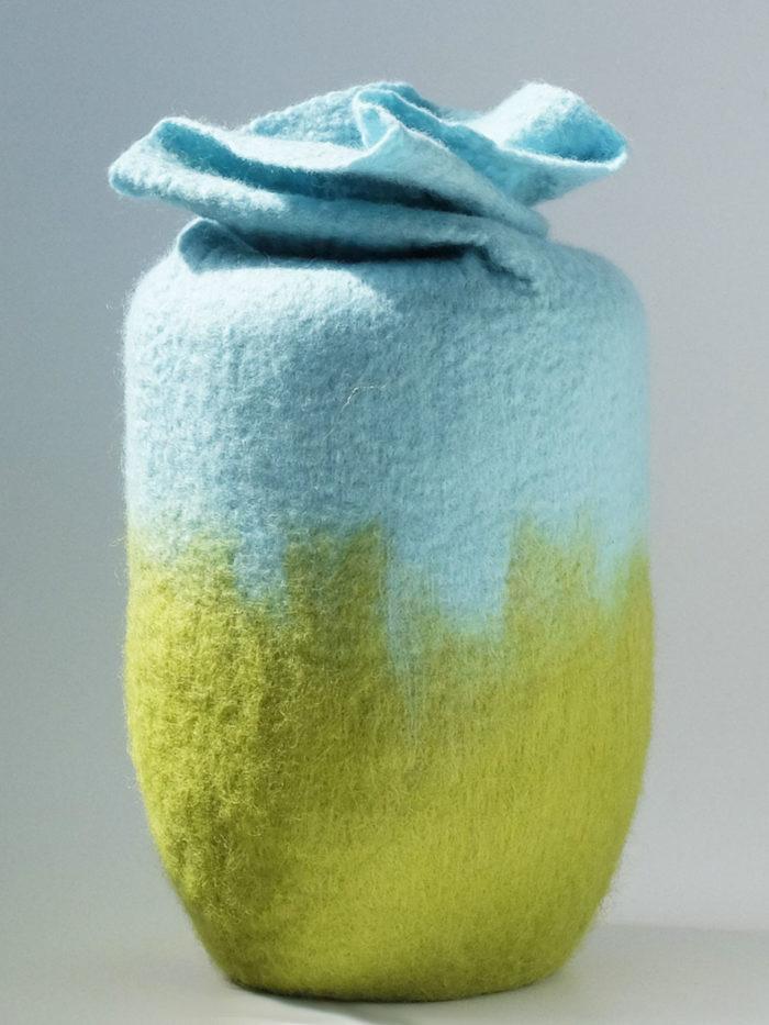 Filzurne Grün Blau